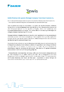 Daikin-Acquires-Tewis-Smart-Systems_DEU18-009_Press-release_SV